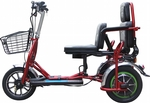 E Wheels EW-02 Bariatric Folding Travel Scooter