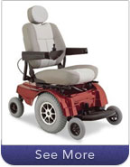 Rugged Terrain Power Wheelchairs