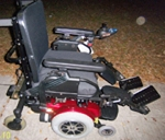 Used Pride Quantum 1121 Power Wheelchair Like New