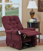 Med Lift Reliance 1553 Wide 3 Way Reclining Lift Chair