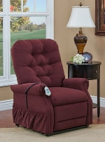 Med Lift Reliance 1555 Petite 2 Way Reclining Lift Chair