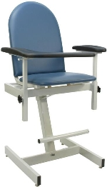 Winco 2578 Designer Height Adjustable Blood Drawing Chair