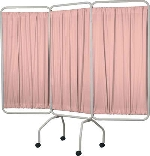 Winco 3139 3-Panel Privacy Screen with Premium Sure-Check