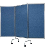 Winco 3170 Designer 3-Panel Steel Frame Privacy Screen
