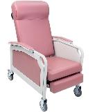 Winco 5261 Convalescent 3-Position Recliner Geriatric Chair