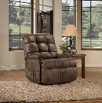 Med Lift Reliance 5500 Wide 2-Position Wall-Hugger Reclining Lift Chair