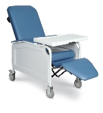 Winco 5851 LifeCare 3-Position Recliner Geriatric Chair
