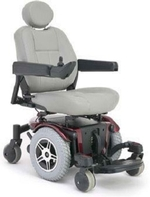 Used Pride Jazzy 600 Electric Wheelchair Like New