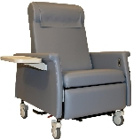 Winco 6990 XL Nocturnal Elite CareCliner with Nylon Casters & LiquiCell