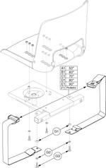 Jazzy 1103 Seat Belt (ACCBELT1000)