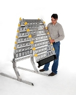 Roll-A-Ramp - Full Sized Van Manual Non-Powered Folding Ramp System