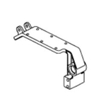 Jazzy 1101 Left Side Motor Mount Bracket (DWR1101D024)