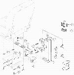 Jazzy 1113 Jet Seat Cane or Crutch Holder (FRMASMB1829)