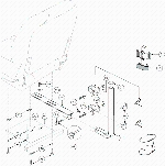 Jazzy 1103 Ultra Jet Seat Cane or Crutch Holder (FRMASMB1829)