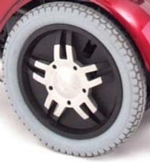 Jazzy Flat Free Drive Wheel Assembly (WHLASMB1408)