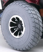 Jazzy Flat Free Drive Wheel (WHLASMB1418)