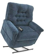 Pride LC-358PW 3-Position Full Recline Chaise Lounger lift chair