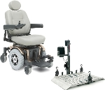 Value Package - Jazzy 600 with EZ Carrier Electric Power Chair Vehicle Lift & HD Vinyl Travel Cover