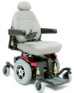 Used Pride Jazzy 614 HD Power Wheelchair Like New