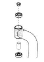Jazzy Caster Anti-Flutter Kit (HDWASMB1117)