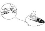 Jazzy 1170 XL Plus Remote Plus Joystick Controller (CTLDC1112, CTLDC1368)