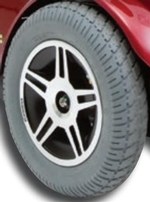 Jazzy Select 14 XL Flat-Free Drive Wheel Assembly (WHLASMB1581)
