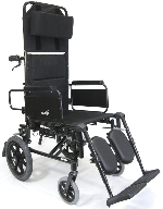 Karman KM-5000 TP Ultra Lightweight Aluminum Premium Transport Recliner