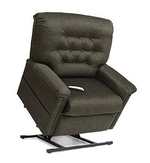 Pride LC-358PW 3-Position Full Recline Chaise Lounger Lift Chair- Heritage Collection