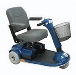 PaceSaver Leisure-Lift Plus III Premier 3 Wheel Electric Scooter