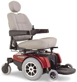 Used Pride Jazzy 1122 Power Wheelchair Like New