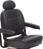 Jazzy Select 14 or Select 14 XL Molded Plastic Seat Cane or Crutch Holder (ACCASMB2060)