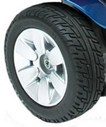 Jazzy Select Generation 3 Flat Free Drive Wheel (WHLASMB2045)