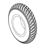 Go Chair Flat-Free Tire (TIRSOLI1033)