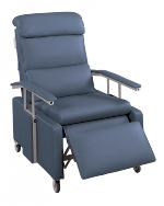 Lumex FR3302 Geri Chair Pillow Back Three Position Drop-Arm Recliner