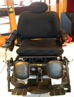Used Pride Quantum 610 Power Wheelchair Like New