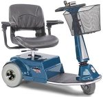 Amigo RD 3 Wheel Electric Scooter - Available with Shabbat And/or EXT 350