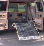 Roll-A-Ramp - MiniVan Powered Electric Folding Ramp System