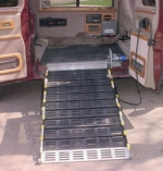 Roll-A-Ramp - Full Sized Van Powered Electric Folding Ramp System