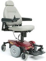 Pride Jazzy Select 6 Ultra Power Wheelchair with Power Elevating Seat