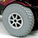 Jazzy Select 6 Ultra Flat Free Drive Wheel (WHLASMB1728)