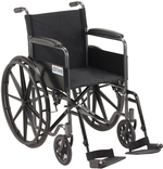 Drive Silver Sport 1 Wheelchair