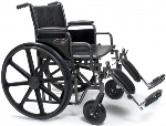 Graham Field Everest & Jennings Traveler HD Manual Wheelchair
