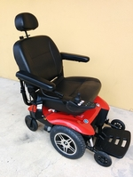 Used Pride Jazzy Elite HD Power Wheelchair Like New