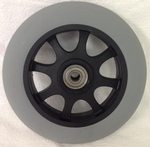 Jazzy 1107 Front Anti-Tip Wheel (WHLASMB1613)