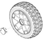 Flat Free Rear Wheel (WHLASMB1803)