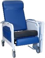 Winco 526S Convalescent Recliner/No Tray w/Saddle Seat