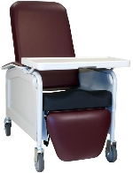 Winco 585S LifeCare Recliner Geriatric Chair with Saddle Seat