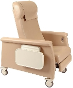 Winco 6900 Elite CareCliner Geriatric Chair with Nylon Casters