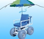Scooter Link Beach Wheelchair WHEELEEZ-4